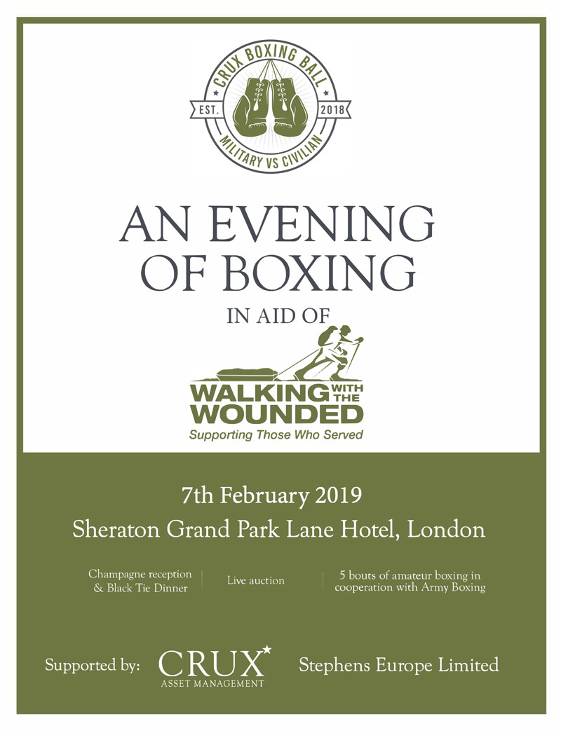 News - An Evening of Boxing - Walking With The Wounded